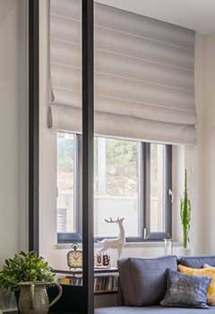 Electric Roman Shades, Palo Alto